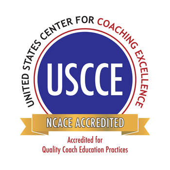 Official logo for National Committee for Accreditation of Coaching Education